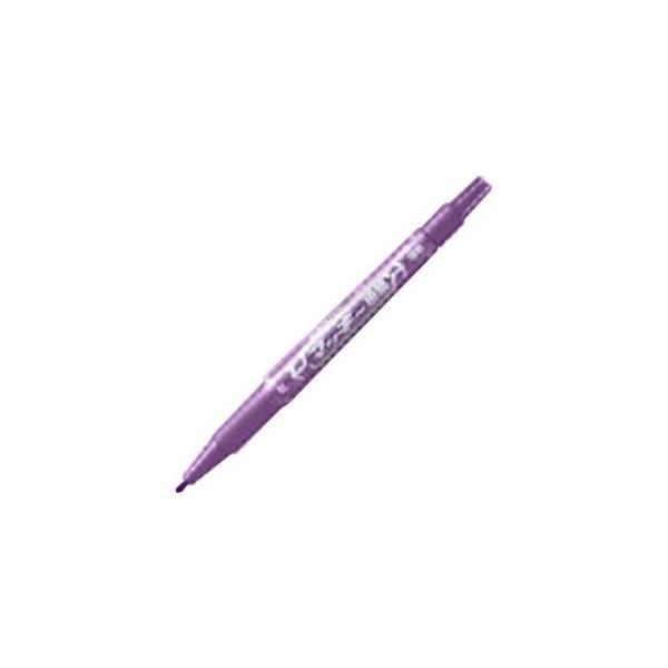 (業務用30セット) ZEBRA ゼブラ 油性ペン/マッキー 〔極細 0.5mm/紫〕 MO-120-MC-PU
