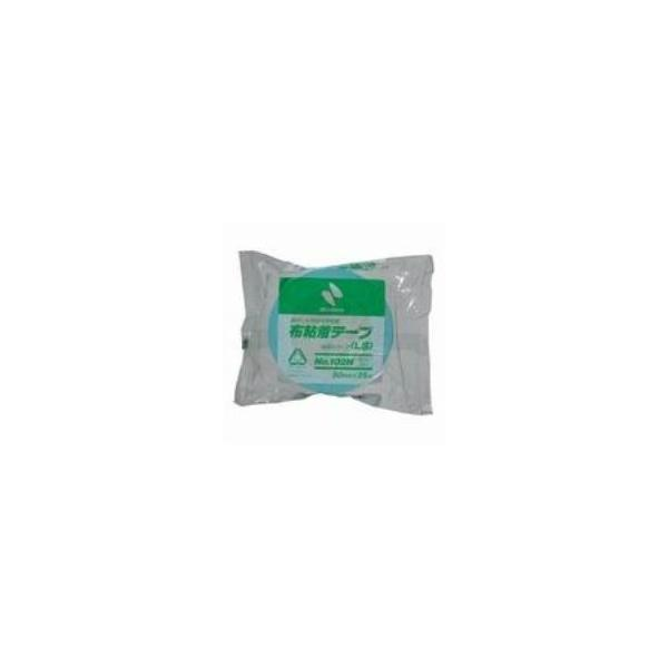 (まとめ)ニチバン カラー布テープ 102N-50 50mm*25m ライト青〔×10セット〕