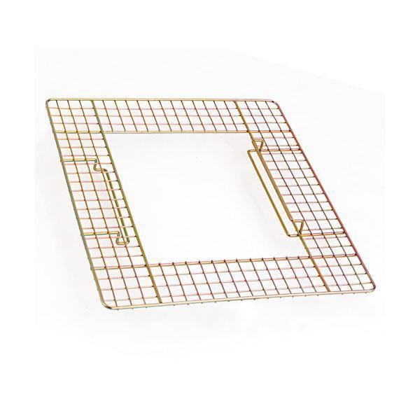 (まとめ) テラモト 吸殻入れII用ワイヤーテーブル SS-258-500-0 1台 〔×8セット〕