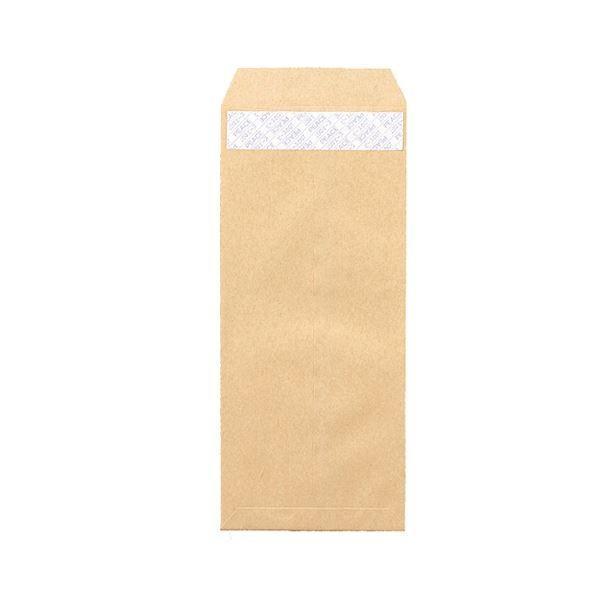 (まとめ) ピース R40再生紙クラフト封筒 テープのり付 長4 70g/m2 〒枠あり 業務用パック 441 1箱(1000枚) 〔×2セット〕