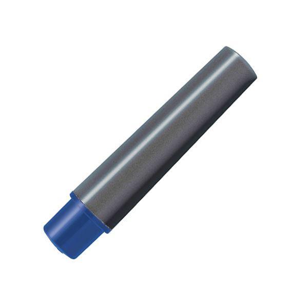 (まとめ) ゼブラ 水性マーカー紙用マッキー極細用インクカートリッジ 青 RWYTS5-BL 1パック(2本) 〔×50セット〕