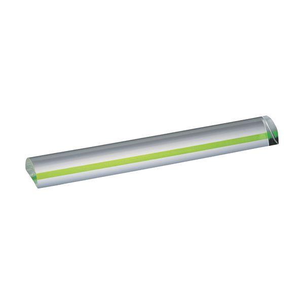 (まとめ) 共栄プラスチック カラーバールーペ15cm グリーン CBL-700-G 1個 〔×10セット〕