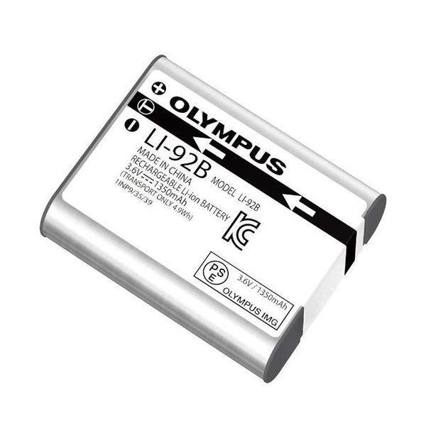 オリンパス リチウムイオン充電池LI-92B 1個