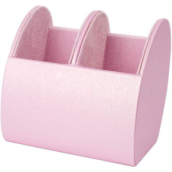 パール メガネスタンド 2本収納 ピンク