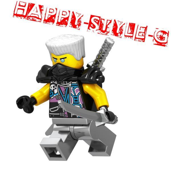 レゴ レゴブロック LEGO レゴミニフィグ ニンジャゴー 忍者8体Gセット 互換品 クリスマス プレゼント|happy-style-g|02