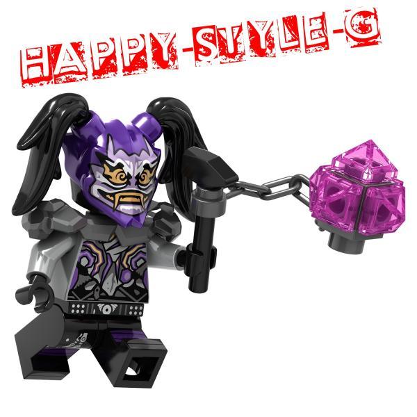 レゴ レゴブロック LEGO レゴミニフィグ ニンジャゴー 忍者8体Gセット 互換品 クリスマス プレゼント|happy-style-g|04