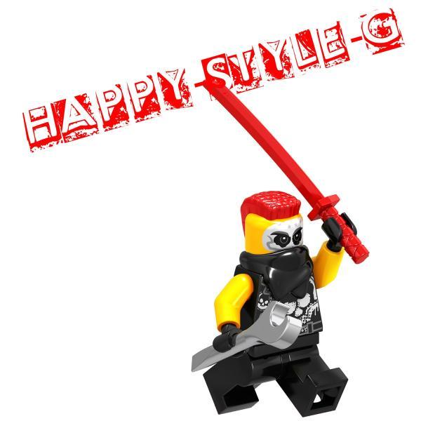 レゴ レゴブロック LEGO レゴミニフィグ ニンジャゴー 忍者8体Gセット 互換品 クリスマス プレゼント|happy-style-g|06