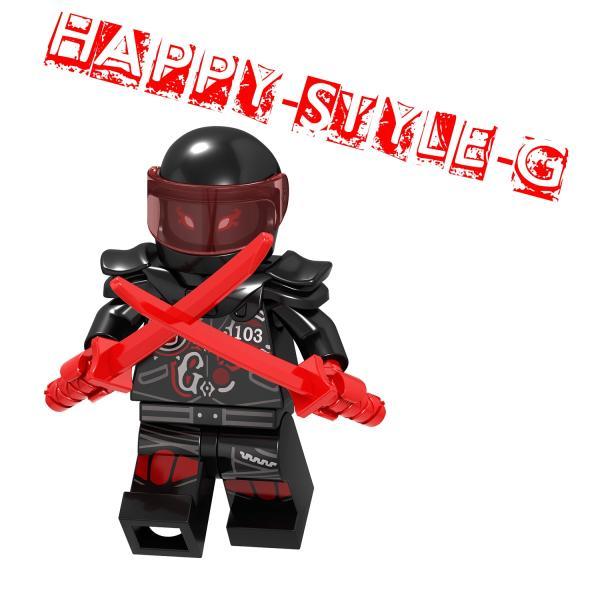 レゴ レゴブロック LEGO レゴミニフィグ ニンジャゴー 忍者8体Gセット 互換品 クリスマス プレゼント|happy-style-g|07