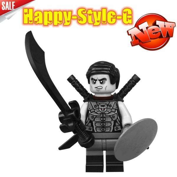 レゴ レゴブロック LEGO レゴミニフィグ ニンジャゴー 忍者8体Aセット互換品 クリスマス プレゼント|happy-style-g|02