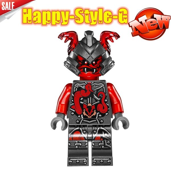 レゴ レゴブロック LEGO レゴミニフィグ ニンジャゴー 忍者8体Aセット互換品 クリスマス プレゼント|happy-style-g|03