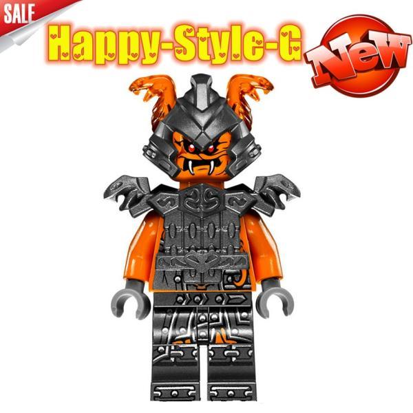 レゴ レゴブロック LEGO レゴミニフィグ ニンジャゴー 忍者8体Aセット互換品 クリスマス プレゼント|happy-style-g|04