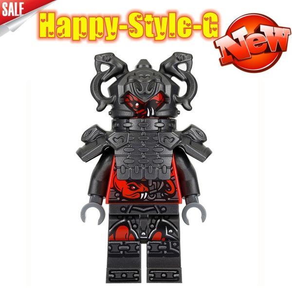 レゴ レゴブロック LEGO レゴミニフィグ ニンジャゴー 忍者8体Aセット互換品 クリスマス プレゼント|happy-style-g|05