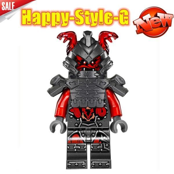 レゴ レゴブロック LEGO レゴミニフィグ ニンジャゴー 忍者8体Aセット互換品 クリスマス プレゼント|happy-style-g|06