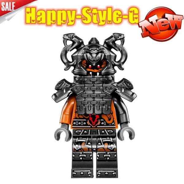 レゴ レゴブロック LEGO レゴミニフィグ ニンジャゴー 忍者8体Aセット互換品 クリスマス プレゼント|happy-style-g|07