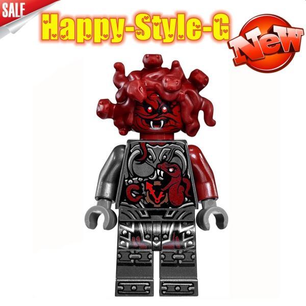 レゴ レゴブロック LEGO レゴミニフィグ ニンジャゴー 忍者8体Aセット互換品 クリスマス プレゼント|happy-style-g|08