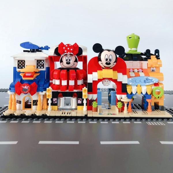 レゴ レゴブロック LEGO レゴミニモジュール式ディスショップ 他4個セット 互換品クリスマス プレゼント|happy-style-g|03