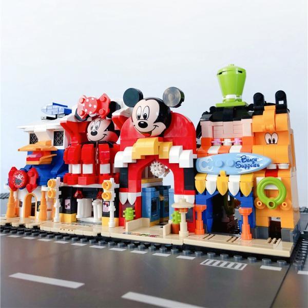 レゴ レゴブロック LEGO レゴミニモジュール式ディスショップ 他4個セット 互換品クリスマス プレゼント|happy-style-g|04