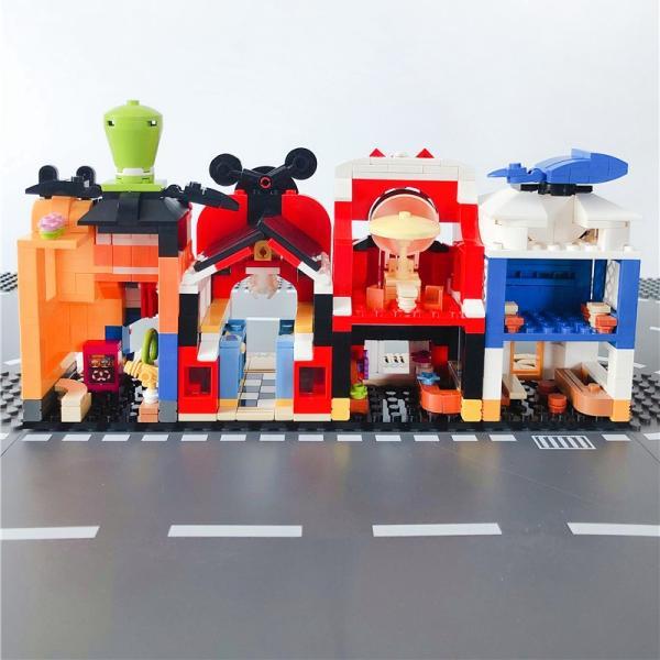 レゴ レゴブロック LEGO レゴミニモジュール式ディスショップ 他4個セット 互換品クリスマス プレゼント|happy-style-g|05