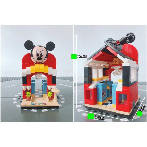 レゴ レゴブロック LEGO レゴミニモジュール式ディスショップ 他4個セット 互換品クリスマス プレゼント|happy-style-g|07