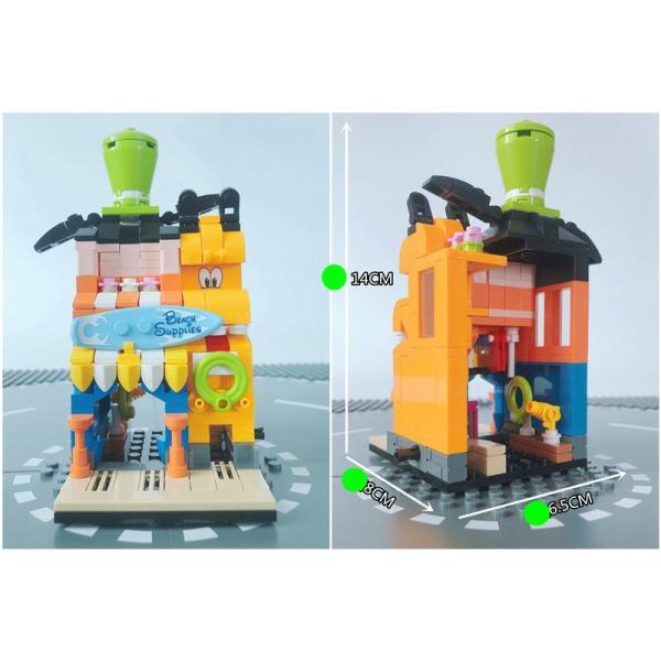 レゴ レゴブロック LEGO レゴミニモジュール式ディスショップ 他4個セット 互換品クリスマス プレゼント|happy-style-g|09