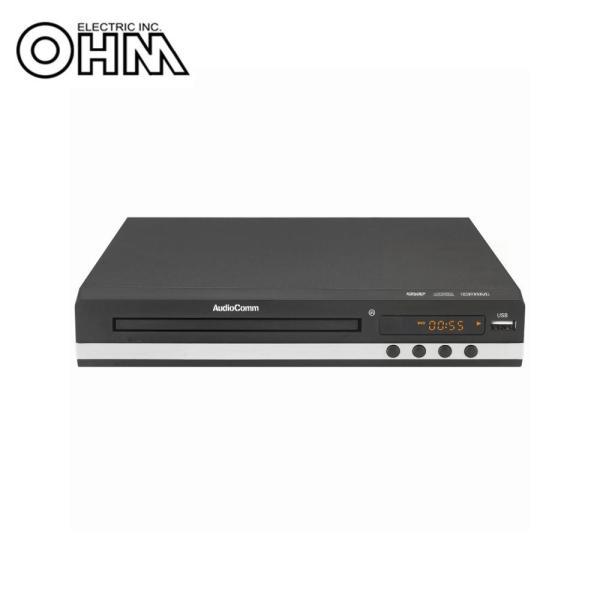 OHMAudioCommCPRM対応DVDプレーヤーDVD-718据え置き型オーディオ家電 検索用キーワード=cprm対応DVD