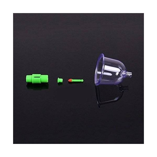 エアマッサージ器 吸い玉カップ ハンソルメディカル ポンプ マッサージ カップ 吸い玉 吸圧器 真空シリコーンシリコンカッピング|happyberry|11
