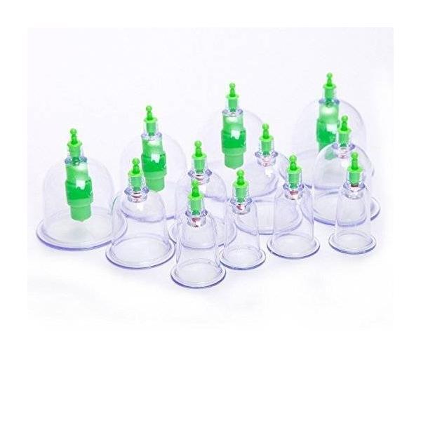 エアマッサージ器 吸い玉カップ ハンソルメディカル ポンプ マッサージ カップ 吸い玉 吸圧器 真空シリコーンシリコンカッピング|happyberry|06