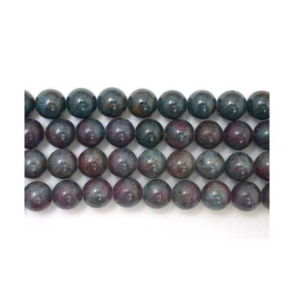 ルビーカイヤナイト 6mm 天然石 ビーズ 7月 誕生石 1連売 約37〜38cm