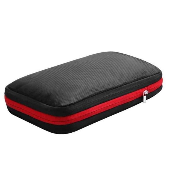 圧縮バッグ トラベルポーチ 圧縮収納 ビジネスバッグ 軽量 防水 簡単 仕分け 海外旅行 国内旅行 着替え 洗面用具 Mサイズ
