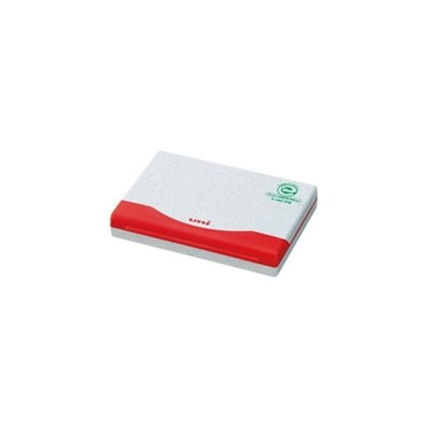 三菱鉛筆 速乾スタンプ台 HSP2F.15 赤〔×5セット〕〔送料無料〕