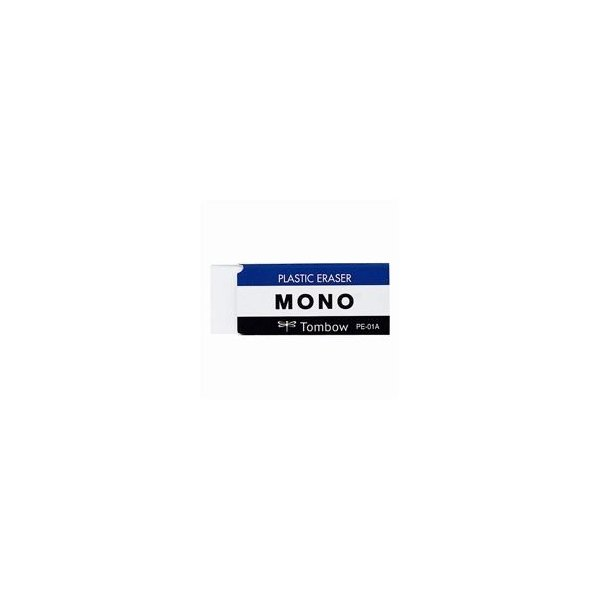 トンボ鉛筆 モノ消しゴム PE-01A〔×60セット〕〔送料無料〕
