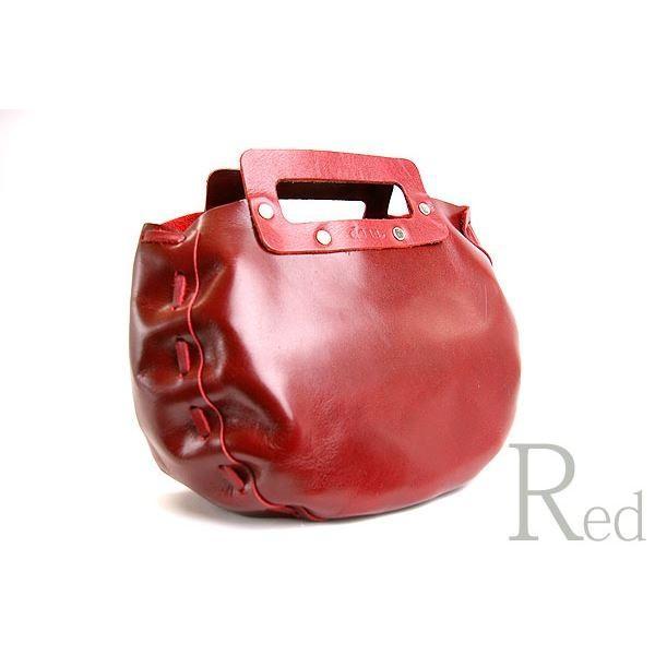 【直送】dean(ディーン) bowling bag ハンドバッグ 赤