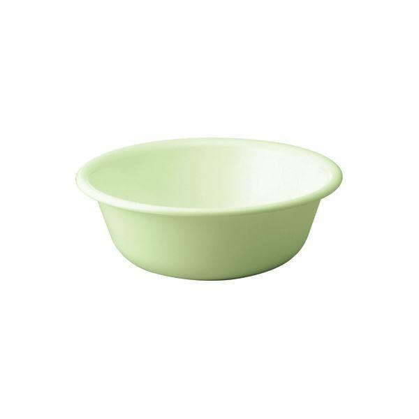 〔50セット〕 シンプル 風呂桶/湯桶 〔パステルグリーン〕 27×9.5cm 材質:PP 『HOME&HOME』〔送料無料〕