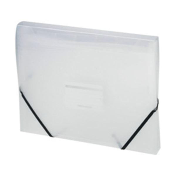 オフィスデポオリジナル ドキュメントファイル A4 クリア 6ポケット 1冊〔×10セット〕〔送料無料〕