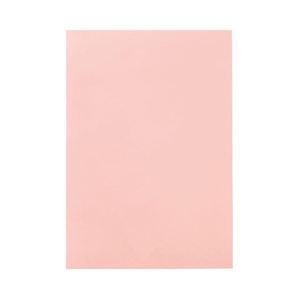 TANOSEE 色画用紙 四つ切 うすもも 1パック(10枚) 〔×30セット〕〔送料無料〕