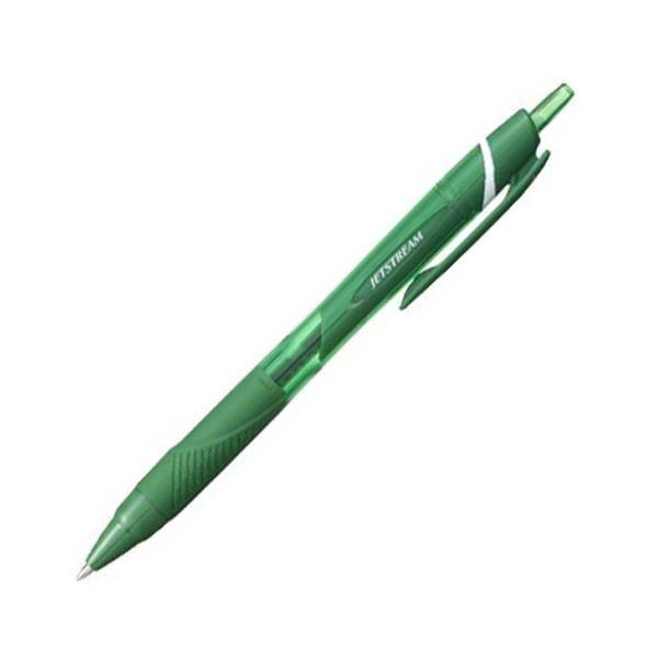 三菱鉛筆 油性ボールペン ジェットストリーム カラーインク 0.7mm 緑 SXN150C07.6 1本 〔×100セット〕〔送料無料〕