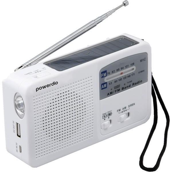 防災 ラジオライト 手回し 充電 多機能〔送料無料〕