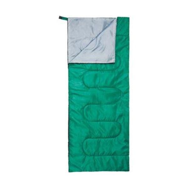 ハピラ 封筒型寝袋 グリーンNBKR900 1個〔×10セット〕〔送料無料〕