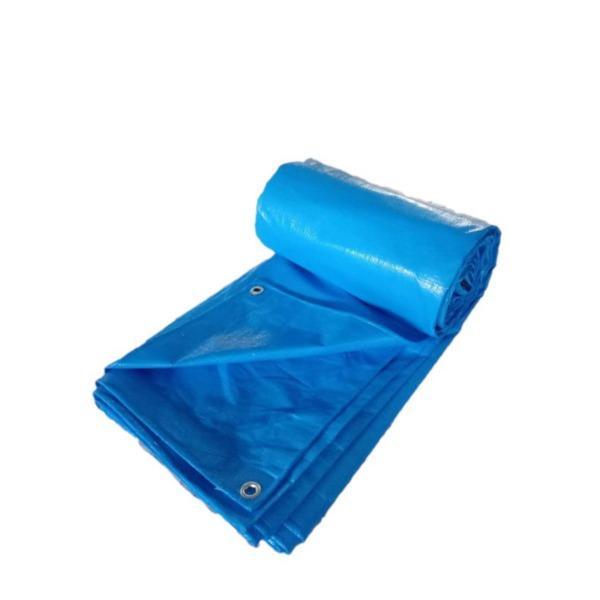 Sunruck ブルーシート 3000 10×10m 厚手 防水 ハトメ付き 養生 豪雨対策に〔送料無料〕