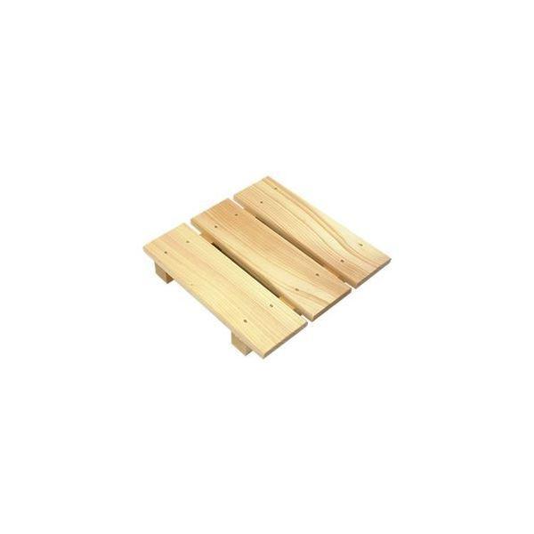 すのこ 板 木製 多目的スノコ 28×28cm ミニ(風呂 押入れ) 〔×3セット〕〔送料無料〕