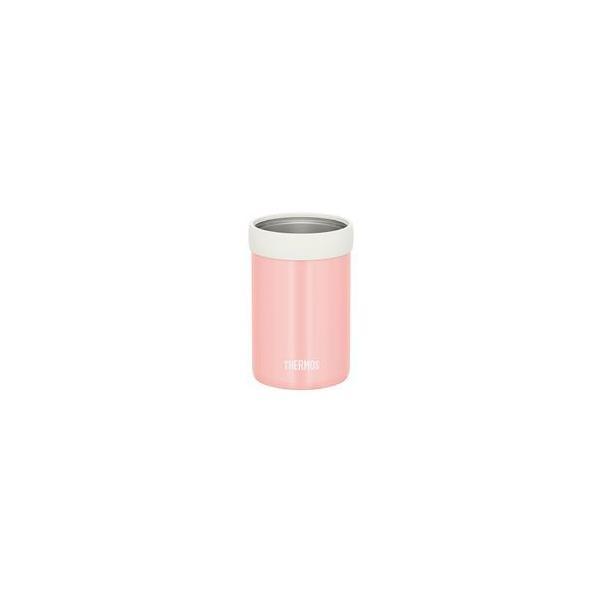 〔12個セット〕 サーモス 保冷缶ホルダー 〔350ml缶用 コーラルピンク〕 JCB-352
