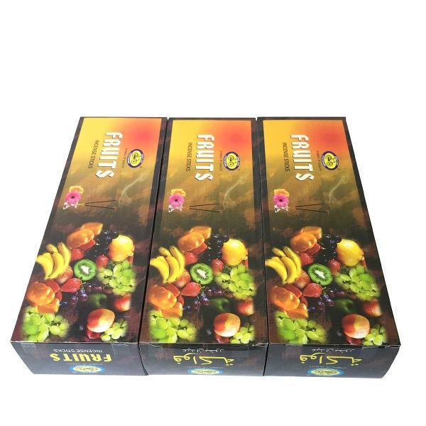 インドのお香/サイクル フルーツ香スティック 卸おまとめプライス3BOX(18箱) /CYCLE FRUITS/ネコポス便送料無料