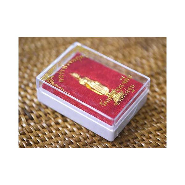 タイ-ワット・プラパトムチェディのプラクルアンその1(金色の御神体)!タイでは超有名なお守りの一種です!/タイのお守り/エスニック/アジアン雑貨