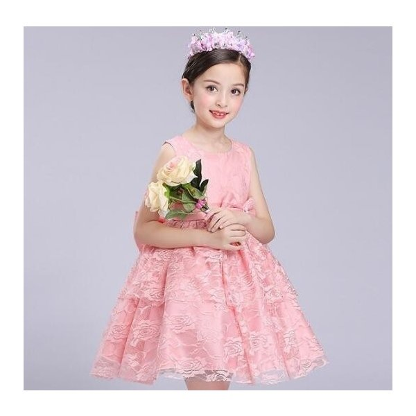 665a3f5f4f98c キッズドレス 女の子 フォーマルリンセスドレス発表会 結婚式 コンクール パーティードレス レース ワンピース 子供 ...