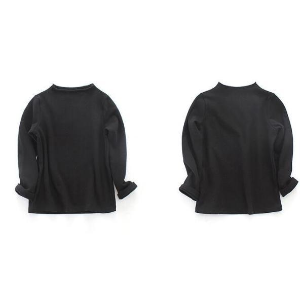 3b9b8b738751a ... 子供服 チェック 3点セット長袖 シャツ+ キャミソール+長ズボン 黒トップス 春秋 ...