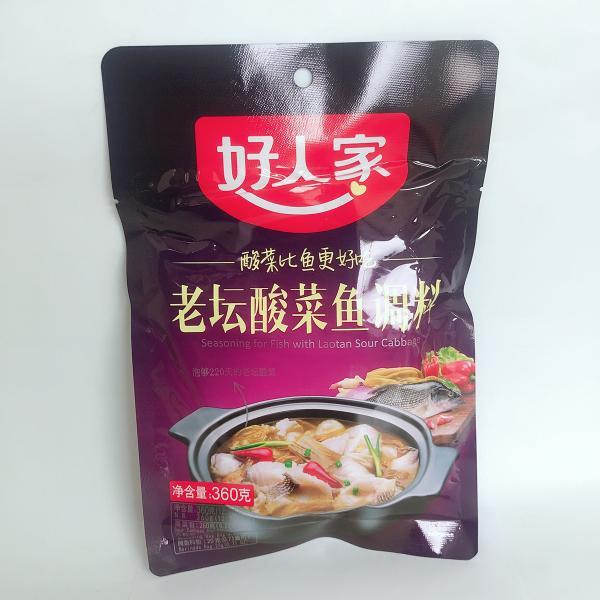 好人家 老壇酸菜魚調味料 360g  中華調味料