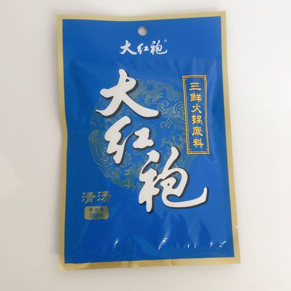 大紅炮 三鮮火鍋底料(清湯)168g  中華スープの素 しゃぶしゃぶ 中華調味料 賞味期限2021年10月9日