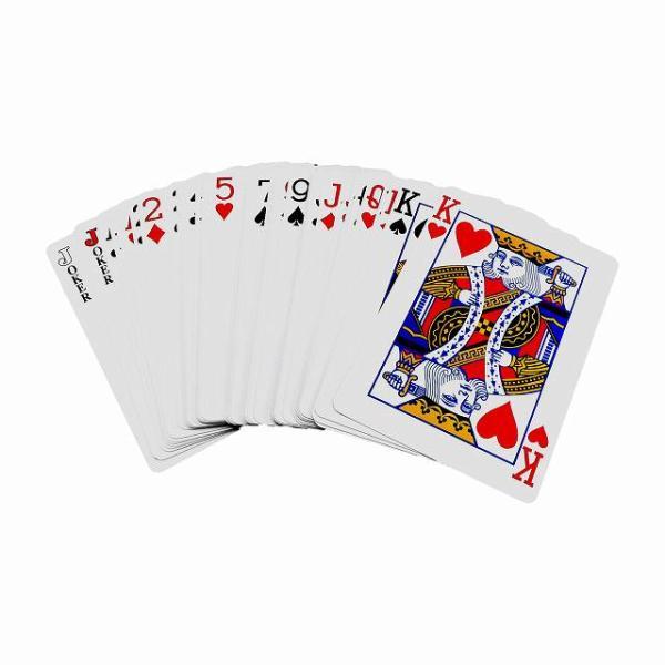 トランプ ジャンボ B6サイズ やや大きい カード ビッグ HB-547 メール便OK