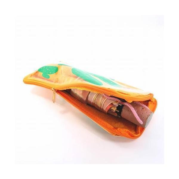 折りたたみ傘袋 折りたたみ傘ポーチ オレンジ サボテン ML-755 レディース キッズ 傘ケース 傘入れ 挿し袋 メール便OK