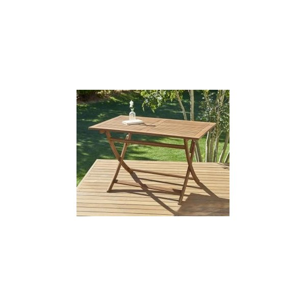 ガーデンテーブル おしゃれ W120 アカシア天然木